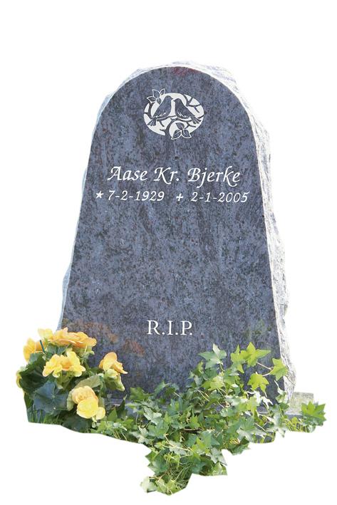 Bilde Komplett gravsten 312