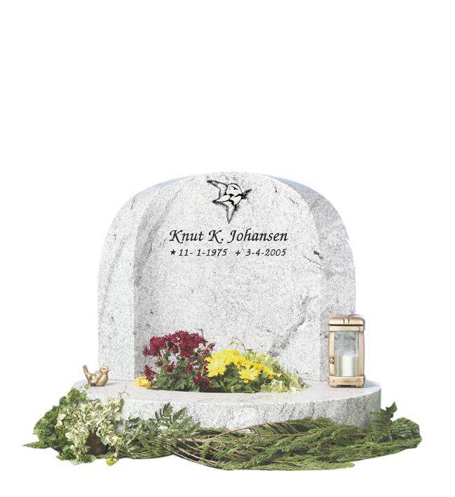 Bilde Komplett gravsten 315