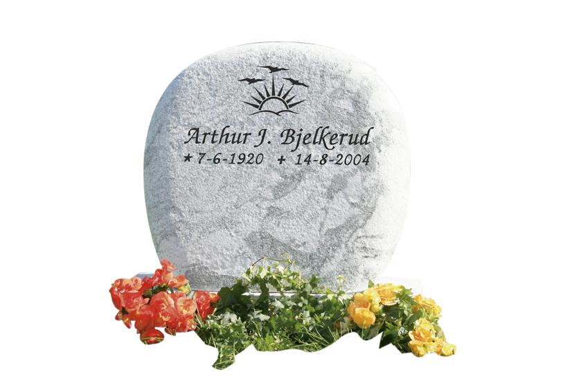 Bilde Komplett gravsten 316