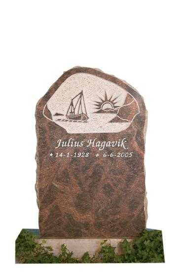 Bilde Komplett gravsten 317