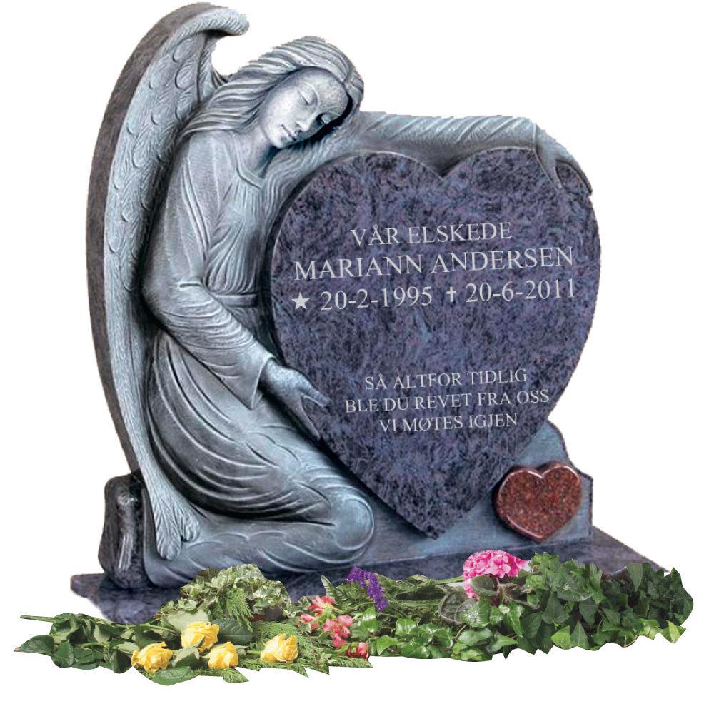 Bilde Komplett gravsten 328