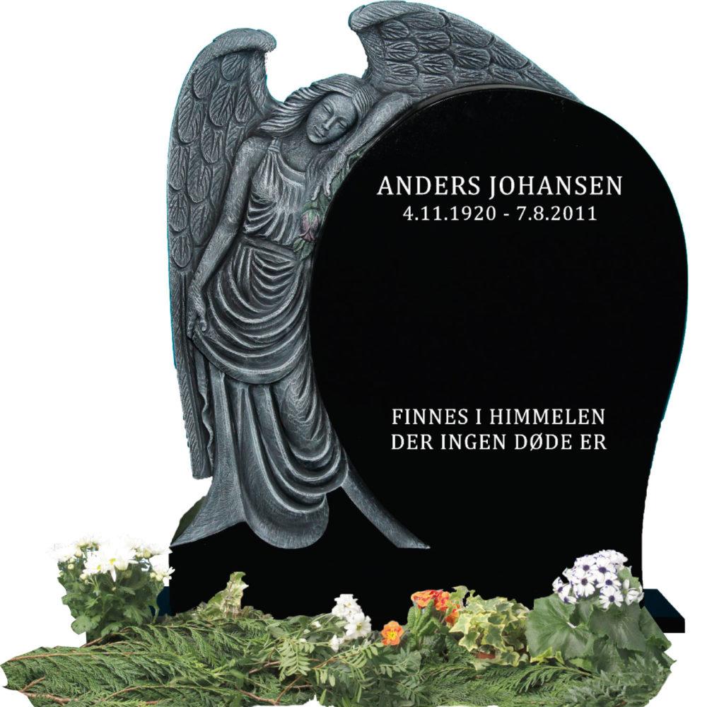 Bilde Komplett gravsten 326