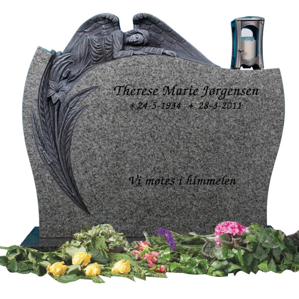 Bilde Komplett gravsten 329