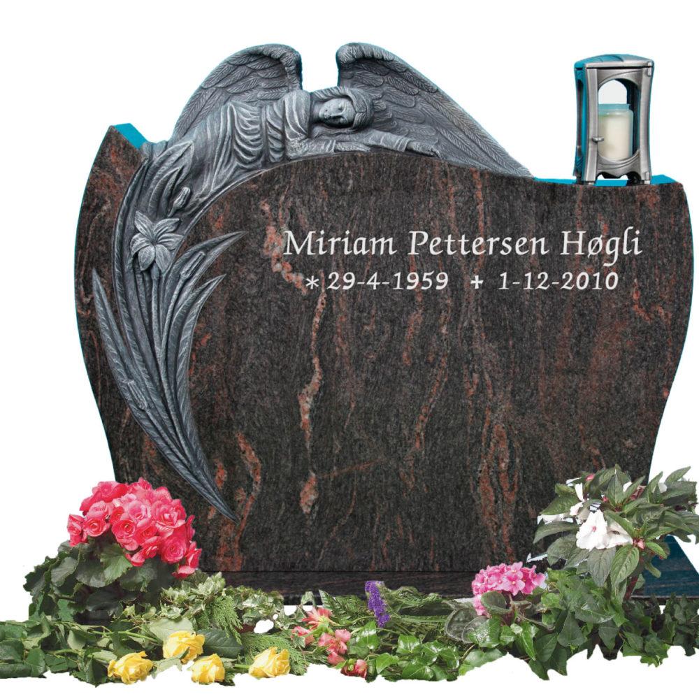 Bilde Komplett gravsten 330