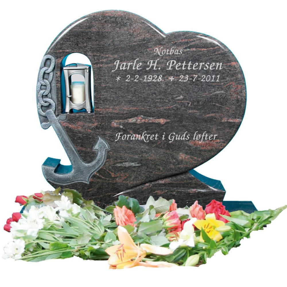 Bilde Komplett gravsten 334