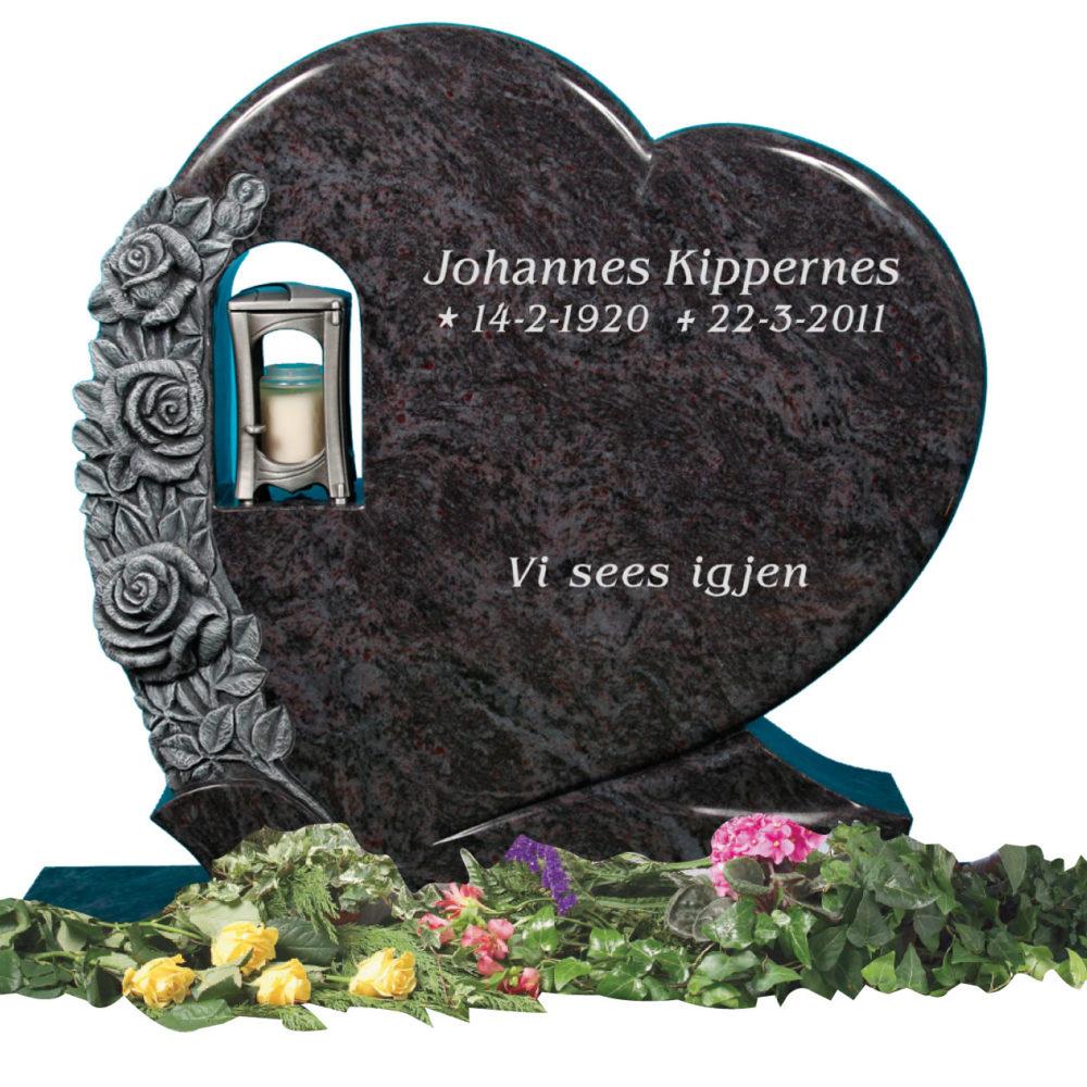 Bilde Komplett gravsten 335
