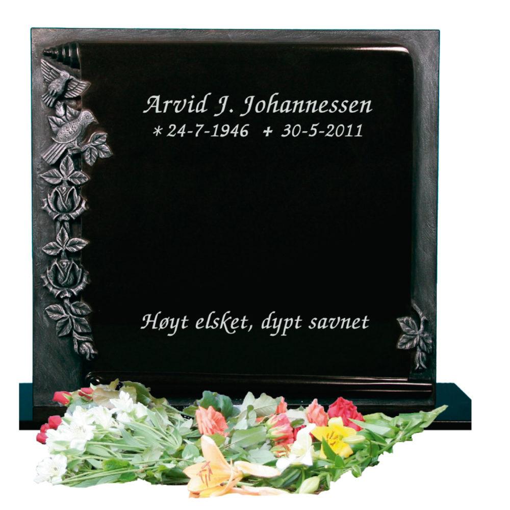 Bilde Komplett gravsten 339