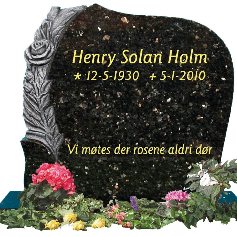 Bilde Komplett gravsten 344