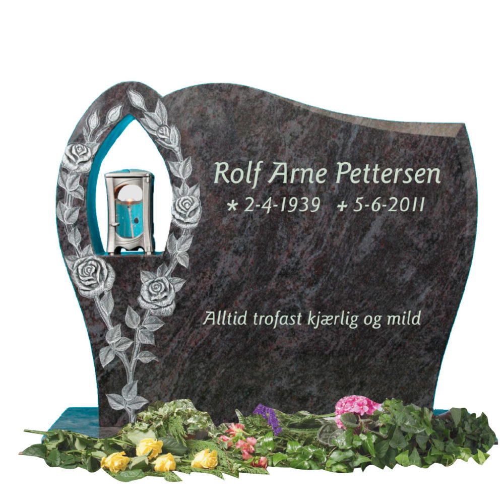 Bilde Komplett gravsten 349