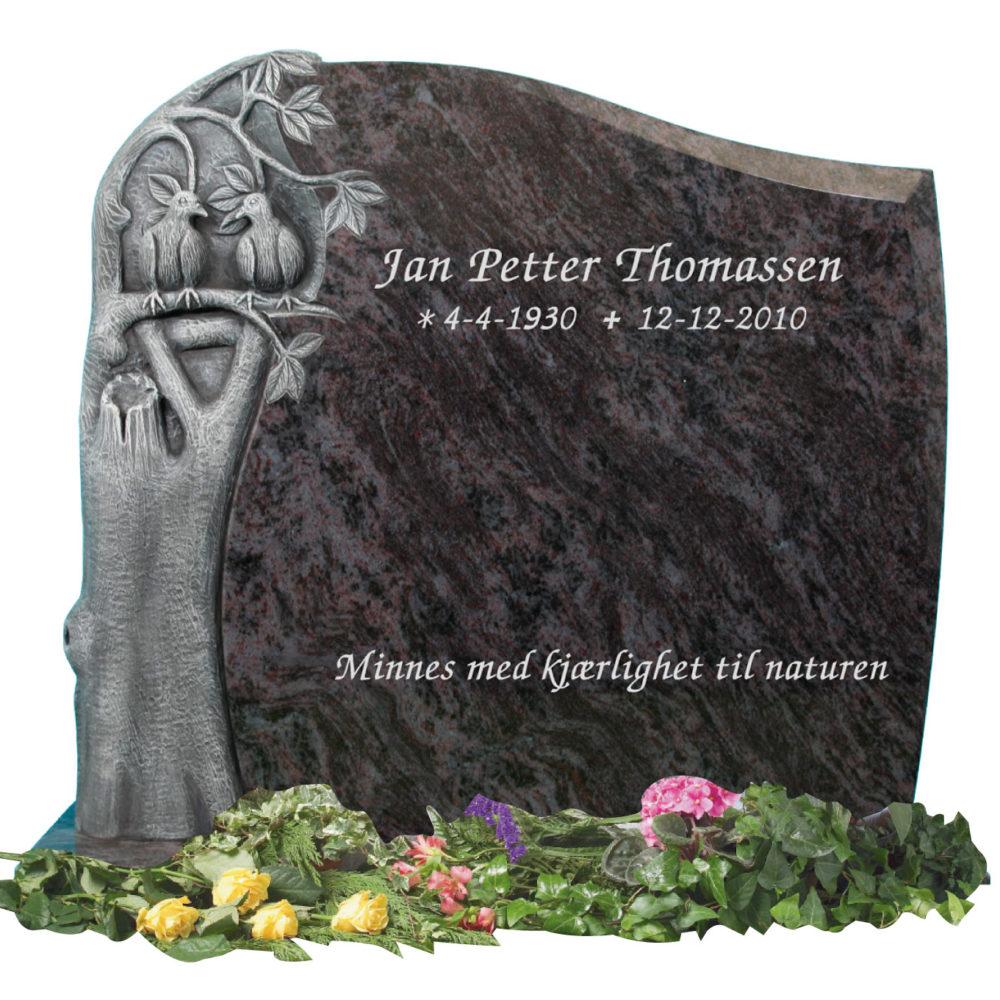 Bilde Komplett gravsten 352