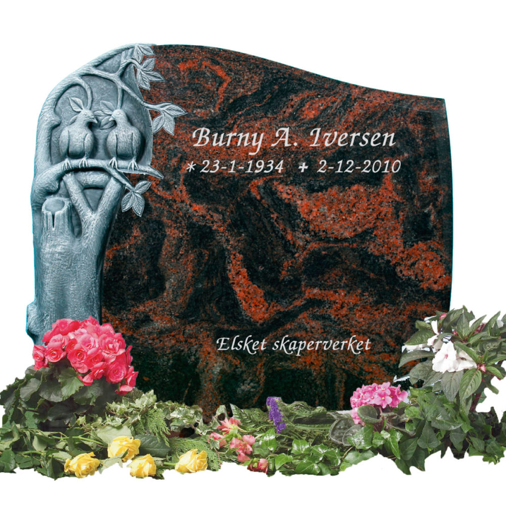 Bilde Komplett gravsten 353