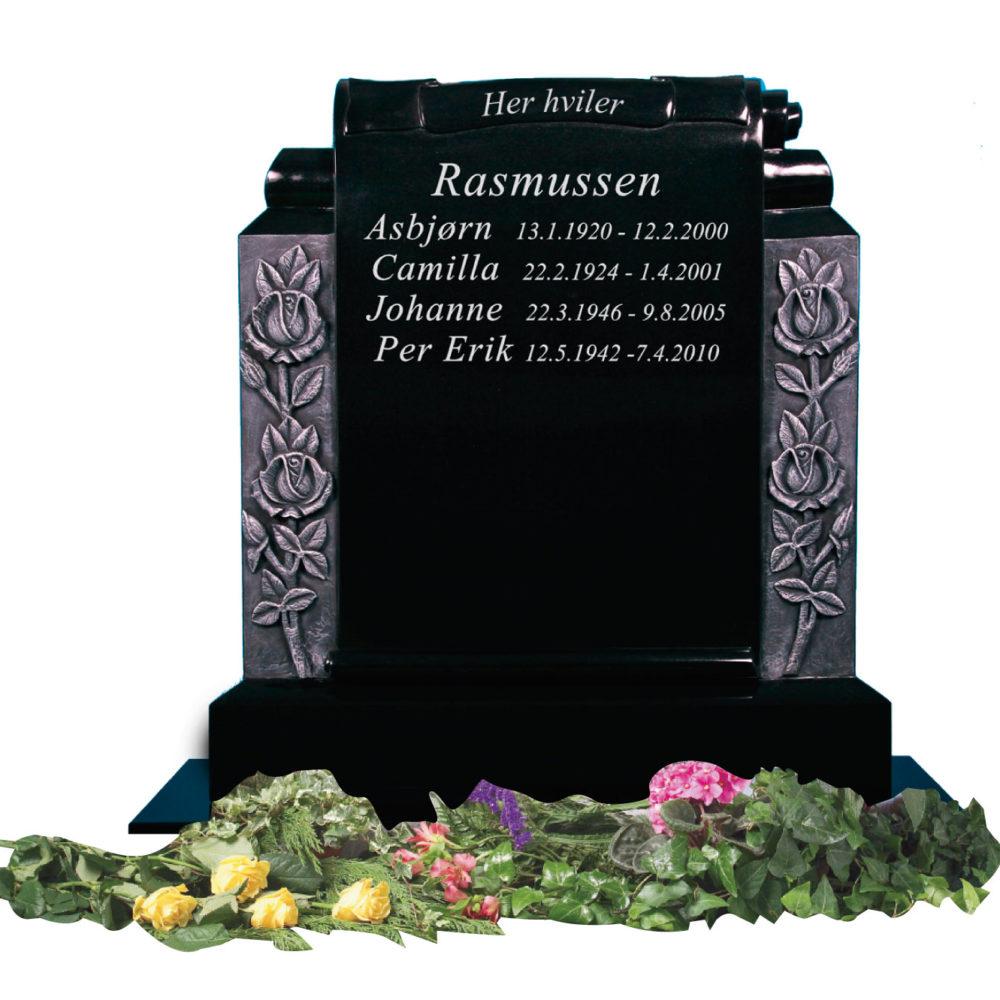 Bilde Komplett gravsten 357
